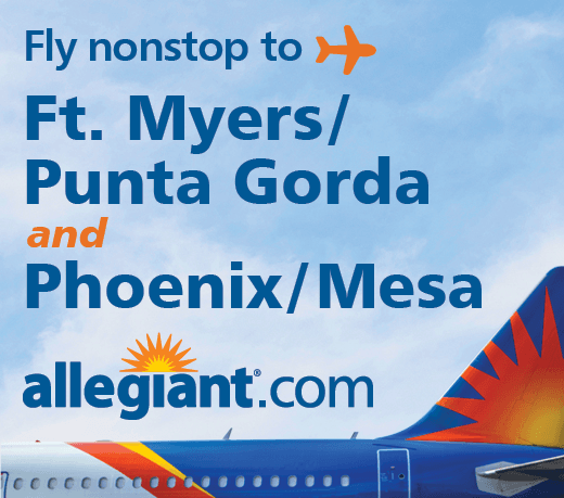 Allegiant Ad for AZ and FL